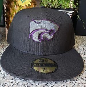 New era kansas state fitted cap